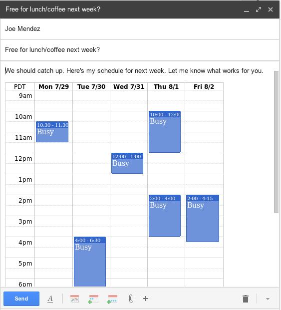 Smart Calendar Assistant For Gmail Boomerang Calendar